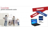 1 x laptop Asus, 2 x voucher in valoare de 100 ron