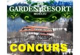 """1 x sejur de 2 nopti pentru 2 persoane cu pensiune completa la Hotelul """"The Garden Resort"""" din Moeciu"""
