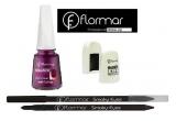 3 x set Flormar eyeliner Carbon Black + oja magnetica