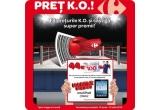 44 x voucher de cumparaturi Carrefour de 100 RON + o fotografie cu Ionut Iftimoaie + semnatura sa, 1 x iPad Wi-Fi 16 GB Black