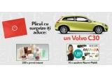 1 x autoturism Volvo C30, 10 x voucher de 1000 euro de la Rovere Mobili, 200 x pachet cu produse cosmetice Marionnaud