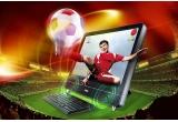 1 x un desktop all-in-one MSI Wind Top AE2400, 1 x webcam Genius eFace 2025, 1 x sistem de sunet Genius SW-5.1 1020, 1 x mouse Genius Navigator 905 Bamboo
