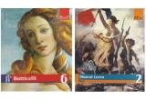 20 x 5 pachete de carti Adevarul din colectiile Pictori de geniu si Marile muzee
