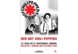 1 x set de 4 bilete in zona VIP la concertul Red Hot Chili Peppers