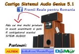 1 x sistem audio Genius 5.1
