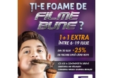 1 x bilet gratuit instant la orice bilet cumparat la Grand Cinema Digiplex + 25% Discount pentru Urmatoarea Tranzactie