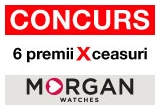 6 x premiu constand in ceas MORGAN