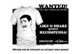 100 x tricou imprimat cu meme-ul castigator