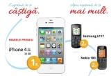 1 x telefon iPhone 4s, 2 x telefon Samsung E117, 2 x telefon Nokia 100