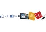 1 x tableta Samsung II Galaxy Tab2 P5100, 30 x memory stick personalizat 4GB