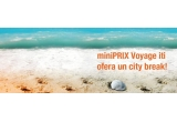 1 x un city break oferit de miniPRIX Voyage (Premiul se oferta doar daca pagina miniPRIX Discount Voyage ajunge la 10.000 de fani pana la sfarsitul lunii iulie)