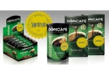 12 x set de cafea constand in 2 pachete Doncafe Selected 250 g + 1 cutie Doncafe Selected Instant 200 g + 1 cutie Doncafe Selected Instant 60 pliculete