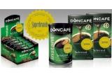 10 x set Doncafé ce contine: 2 pachete Doncafé Selected 250 g + 1 cutie Doncafé Selected Instant 200 g + 1 cutie Doncafé Selected Instant 60 pliculete