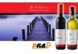 1 x voucher de 1000 RON de la F64, 2 x sticle de vin Domeniile Sahateni semnate Aurelia Visinescu