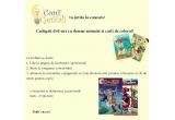 1 x dvd-uri cu desene animate si carti de colorat