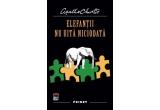 "4 x carte ""Elefantii nu uita niciodata"" de Agatha Christie"