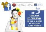 1 x produse in valoare de 200 ron de pe websiteul www.Cristian-lay.ro