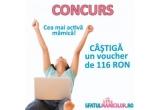 1 x voucher de cumparaturi la un magazin online de electrocasnice in valoare de 116 Ron