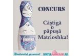 1 x o papusa handmade cu aspect de Matrioshka