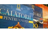 """1 x colectia """"Calatorii pentru o viata : 500 de locuri unice (vol 1-4)"""", 3 x 2 ghiduri turistice de la National Geographic"""