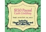1 x 150$ Paypal Cash