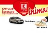 1 x autoturism Dacia Lodgy, 210 x 500 RON