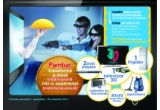 1 x TELEVIZOR 3D HD cu ochelari inclus, 1 x frigider marca Arctic, 2 x aspirator marca Daewoo, 2 x DVD Player marca Samsung, 4 x cuptor cu microunde marca LG, 30 x bax de malai extra Pambac 1 kg