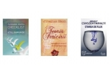 1 x cartea Pledoarie pentru Checklist de Atul Gawande, 1 x cartea Teoria fericirii de Jonathan Haidt, 1 x cartea Starea de flux. Psihologia experientei supreme de Mihaly Csikszentmihaly