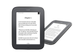 1 x eBook Reader Nook Touch Wi-Fi Glow Light cu autonomie de 30 de zile