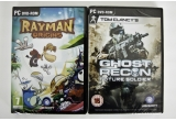 1 x 2 licente Tom Clancy's Ghost Recon Future Soldier + Rayman Origins, 1 x licenta Rayman Origins