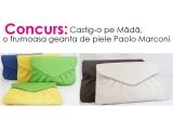 1 x o geanta plic din piele de la Paolo Marconi