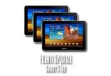 24 x o excursie pentru doua persoane de 21 de zile pe ruta Bucuresti – Roma – Cairo – Cancun – Tokyo – Mumbay – Milano – Bucuresti, 3 x tableta Samsung Galaxy Tab, 40 x bratara USB Kiss Fm 2 GB,