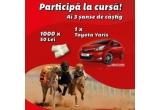 1 x un autoturism Toyota Yaris, 1000 x 50 RON