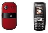 un telefon Sony Ericsson Z320, un telefon Samsung C450 <br type=&quot;_moz&quot; />
