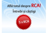 5 x polita RCA pe 12 luni, oferite de Allianz Direct