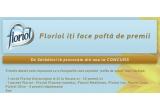 1 x 10.000 RON, saptamanal un pachet din 5 pachete Floriol, zilnic o sticla din 10 sticle Floriol Extravirgine