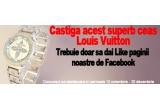 1 x un ceas de dama Louis Vuitton cu cristale Swarovski