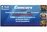1 x un weekend de 5 stele la Predeal Confort Suites
