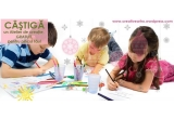 """6 x un Atelier de Creatie pe tema: """"Sarbatorile Iernii"""" - colaj si pictura"""