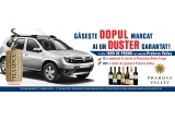 1 x masina Dacia Duster, 15 x Weekend all inclusive Rhein*** Azuga, 985 x Sticla spumant Prahova Valley