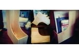 1 x suport pentru documente realizat din lemn de fag