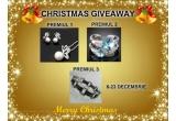 1 x Set Swarovski Pearl Butterfly, 1 x Inel Swarovski Bleu Petal, 1 x Bratara BIKER STAINLESS STEEL&RUBBER