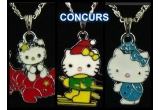 3 x un lantisor Hello Kitty