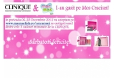 "3 x set din colectia de cadouri ""Clinique X-mas 2012"""