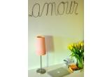 """1 x o decorațiune """"Amour"""" de la Atelier Anda Roman"""