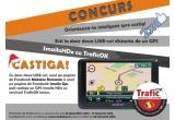1 x un GPS Smailo HDx cu serviciul TraficOK inclus