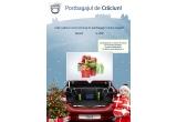 1 x un portbagaj plin de premii, 100 x bec personalizat Dacia, 20 x produs electrocasnic