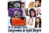 1 x aparat foto Nikon Coolpix AW100 Orange, 14 x o camera foto Nikon Coolpix S2600 LineArt