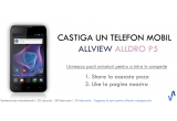 1 x un telefon mobil Allview Alldro P5