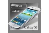 1 x Samsung Galaxy SIII, 1 x Samsung Galaxy Mini, 4 x cartela valorice de cate 50EUR, 4 x cartele valorice de cate 30EUR